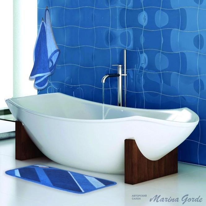 Набор полотенец (синий+голубой)